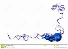 Blue Holiday Border Blue Christmas Border Stock Photo Image Of Decorate