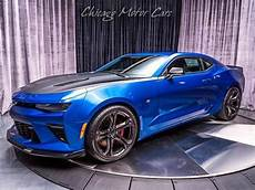 Light Blue Camaro 2017 2017 Chevrolet Camaro 1le Ss Coupe Hyper Blue Metallic