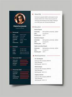 Download A Free Cv Template 54 Premium Amp Free Psd Cv Resumes To Find A Good Job