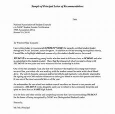 High School Student Recommendation Letter High School Recommendation Letter 12 Sample Letters
