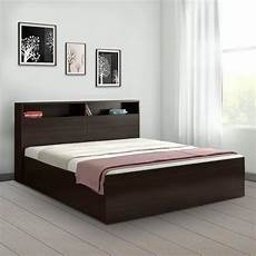 buy alex engineered wood box storage king size bed in