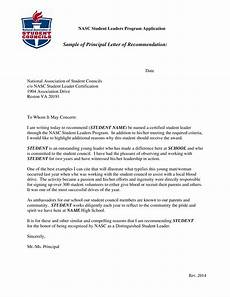 Write Letter Of Recommendation For Student Principal Recommendation Letter For Student Templates At