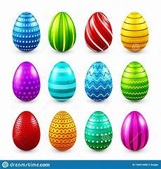 Seasonal Celebration Easter Eggs Colored Set Spring Holidays In April Gift