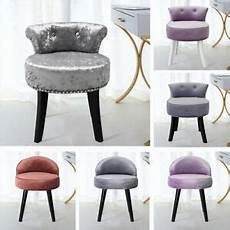 velvet fabric vanity stool bedroom makeup dressing table