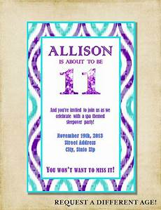11th Birthday Party Invitation Wording 14 Best Images About 11th Birthday On Pinterest