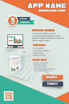 Best App To Make Flyers Mobile App Promotion Flyer Postermywall