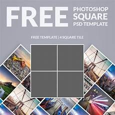 Picture Collage Templates Free Download Free Photoshop Template Photo Collage Square Download Now