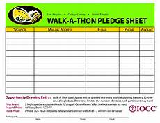 Walk A Thon Pledge Sheet Walk A Thon Pledge Sheet Google Search School Fund