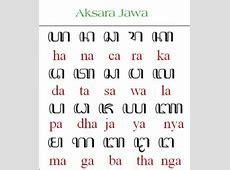 Belajar Nulis Aksara Jawa   Budaya Seni Jawa