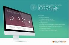 Powerpoint Presentations Template Ios 9 Style Powerpoint Template Powerpoint Templates