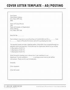 Cover Letter For Online Job Posting 15 Printable Sample Resume Cover Letter In Response To A