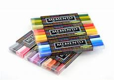 Memento Markers Color Chart Tsukineko Memento Markers 4 Color Set Accessories Lineup