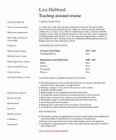 Objectives For Teaching Resumes Free 9 Sample Objective Statement For Resume Templates In Pdf