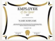 Employee Award Templates Free Employee Of The Year Editable Template Editable Award