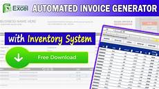 Free Download Stock Inventory Software Excel Excel Invoice Generator W Inventory System Free
