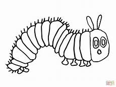 Malvorlage Raupe Schmetterling Hungry Caterpillar Coloring Pages To And