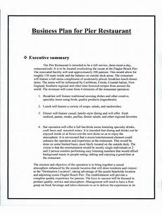 Restaurant Business Plan Examples Restaurant Business Plan 6 Free Templates In Pdf Word
