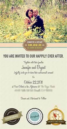 Create E Invite Email Wedding Invitation By Vincent Valentino Via Behance