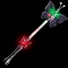 Light Up Butterfly Wand 16 Quot Light Up Butterfly Wand Glowuniverse Com