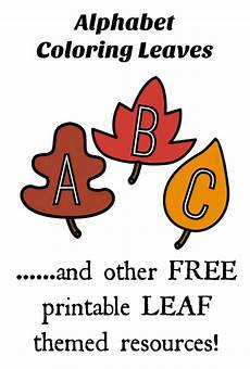 Fall Letters Template Free Fall Leaf Printable Game And Activity Pack For Kids