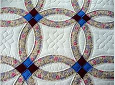 Traditional Amish Double Wedding Ring Quilt By How Much