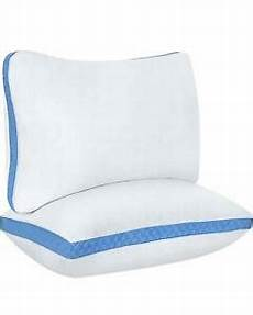 utopia bedding gusseted quilted pillow 2 pack bed pillows
