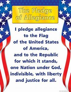 Another Word For Pledge Pledge Of Allegiance Chart Tcr7631 Teacher Created