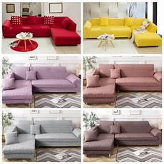 L Shaped Sectional Sofa Covers 3d Image by L Shape 1 2 3 4 Seater Color Sofa Murah Sarung Sofa
