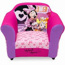 disney minnie mouse upholstered chair with sculpted