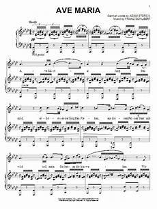 Ave Chord Chart Ave Sheet Music Franz Schubert Piano Vocal