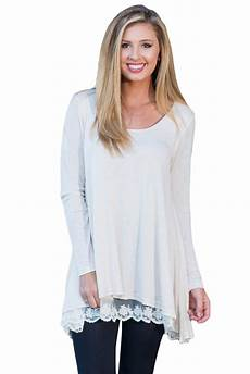 new in white swingy layered sleeve tunic