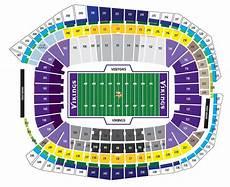 Us Bank Seating Chart Metallica Us Bank Stadium Minneapolis Mn Seating Chart View