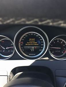 Intel Light System Inoperative Mercedes C Class Has Anyone Seen This Mbworld Org Forums