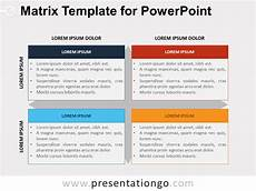 Matrix Powerpoint Template Matrix Template For Powerpoint Presentationgo Com
