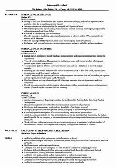 Resume Template For Internal Promotion Internal Sales Resume Samples Velvet Jobs