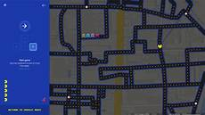 Chart A Course On Google Maps The Original Maze Runner Pac Man Appears On Google Maps