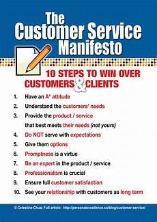 Describe Good Customer Service Skills Manifesto The Customer Service Manifesto Customer
