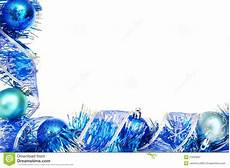 Blue Holiday Border Blue Christmas Border Stock Image Image 27650931