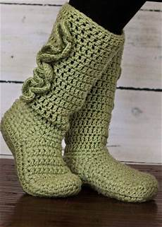 30 easy fast crochet slippers pattern diy to make