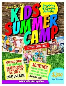 Camp Flyer Template Free 3 930 Summer Camp Customizable Design Templates