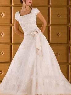 nice a line princess square court lace satin modest