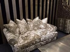 bespoke stress buster crushed velvet 2 5m sofa f d