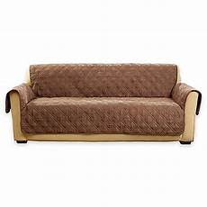 Sure Fit Deluxe Sofa Cover 3d Image by Buy Sure Fit 174 Deluxe Non Skid Waterproof Sofa Cover In