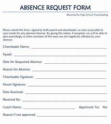 Absence Request Form Template Download Simple Leave Request Form Download Free Office