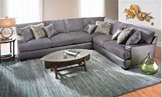 Gray Sectional Sofa 3d Image by Two Toned Gray Textured Sectional Haynes Furniture