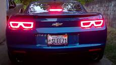 2010 Camaro Lights 2010 Camaro With Euro Taillights Installed Youtube