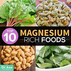 Magnesium In Foods Chart Magnesium Rich Foods Milka Clarke Stroke Brain Trauma
