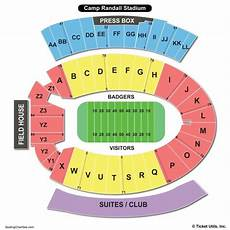 Wisconsin Badgers Seating Chart Camp Randall Stadium Seating Chart Seating Charts Amp Tickets