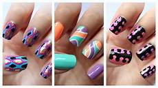 Nail Art Easy Easy Nail Art For Beginners 18 Jennyclairefox Youtube