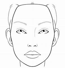 Face Painting Chart Create Try Printing Off A Blank Face Template And